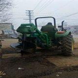 拖拉机带挖树坑机  种树挖坑机 树坑机厂家
