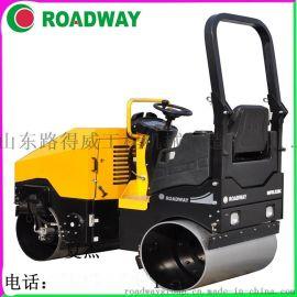 ROADWAY 压路机 RWYL52C小机器大动力 小型驾驶式手扶式压路机 厂家供应液压光轮振动压路机张家口市