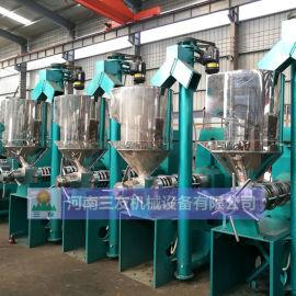 食用油加工设备大豆榨油机   江150大豆榨油机