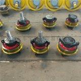 直徑315鑄鋼主動車輪組 雙樑小車行走輪 單緣輪