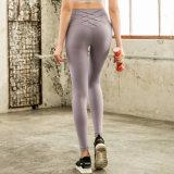 新款蜜桃紧身裤瑜伽裤女提臀运动健身瑜伽九分裤