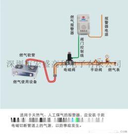 智慧型家庭燃氣報警器電磁閥十大品牌