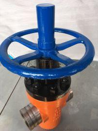 沟槽式特高压闸阀 工作压力40Mpa