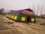 大型防雨加厚施工棉帐篷 野外工地帐篷 施工帐篷