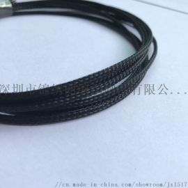 供应3MM黑色编织网管 尼龙编织网管 阻燃编织网管