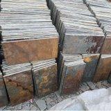 河北廠家供應鏽色板岩黃鏽石鐵鏽色板岩板岩文化石鏽板岩河北板岩