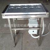 厂家直销食品级不锈钢蛋饺机 自动控温电加热 成套蛋饺加工设备