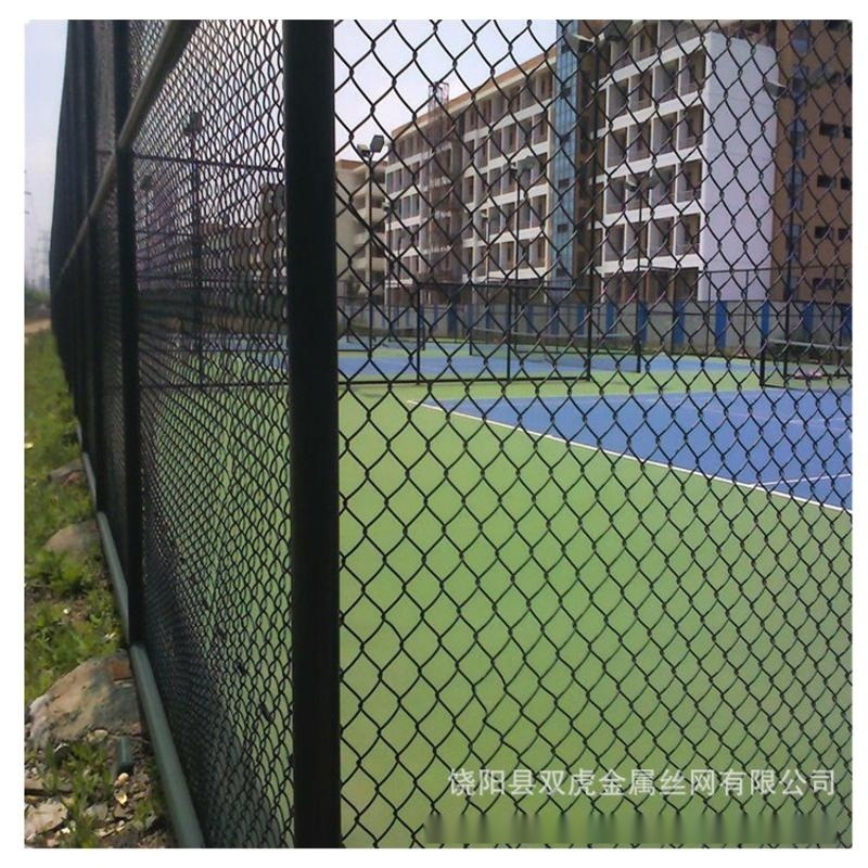 学校操场勾花网围栏网 篮球场护栏网 运动场安全围网