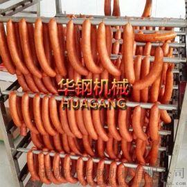 香肠烟熏炉,红肠烟熏设备,山东厂家供应加工