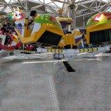 景区公园儿童新型游乐设备多座霹雳转盘厂家定制