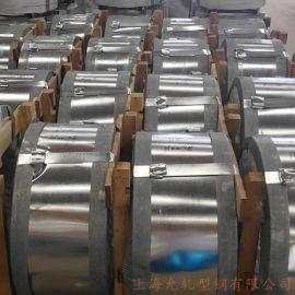 供应热镀锌波纹管带钢 Q195镀锌钢带