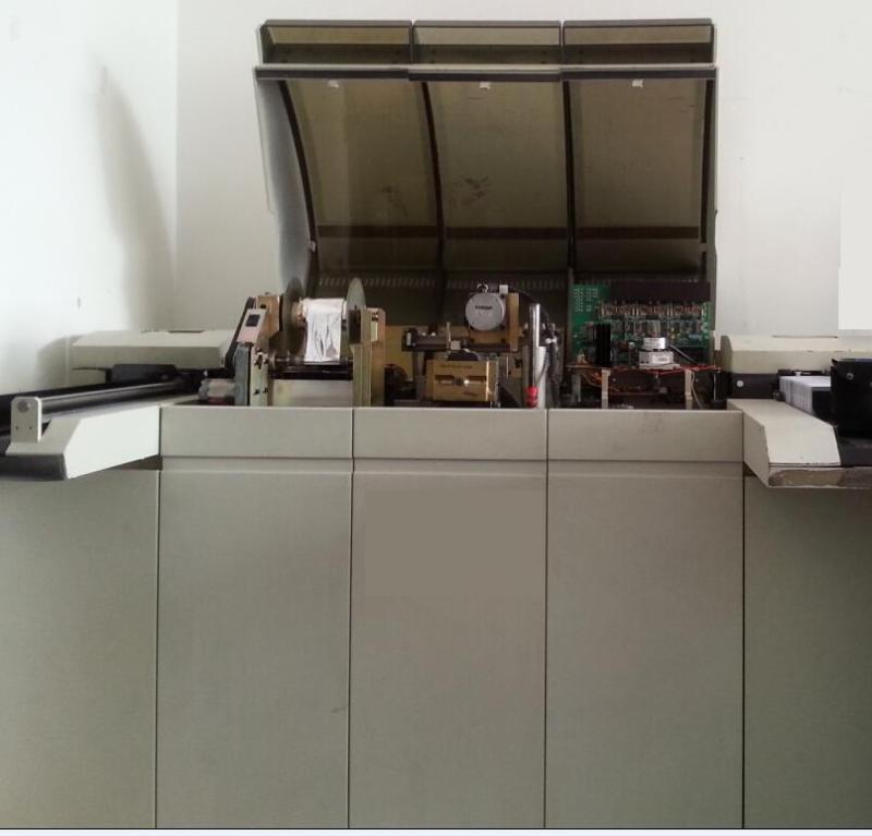 专业PVC卡全自动凸字机、凸码烫金机