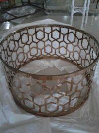 佛山不锈钢做旧红古铜茶几支架