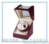搖表器 木質搖表器 單頭雙只手表搖表器