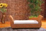 藤家具竹藤新古典床尾凳 简约藤编中式沙发长凳 床榻藤换鞋凳