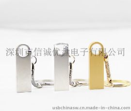 超薄USB 金属材质 个性化随身碟 活动礼品U盘定制 深圳u盘工厂批发