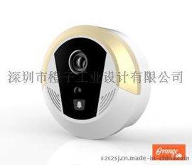 无线可视对讲门铃,工业设计,产品设计