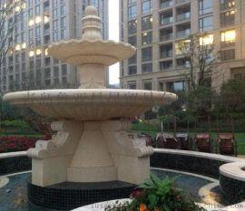 园林喷泉叠水盆,艺术性与实用性并存,大理石花岗岩砂岩材质,欢迎咨询