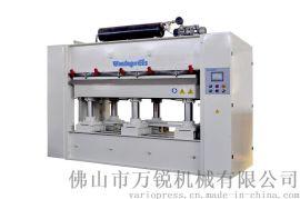 长期提供门芯板正负覆膜机 曲面热压机 正负压机