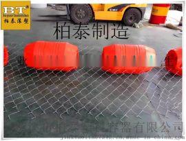 桐城供应管道清淤塑料浮球码头网箱塑料浮体厂家定做