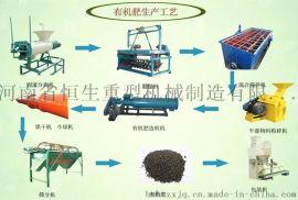 有机肥生产线 有机肥全套设备 肥料加工设备 造粒生产线