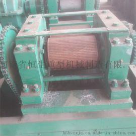 干粉辊压造粒机 有机肥对辊挤压造粒机 对辊造粒设备