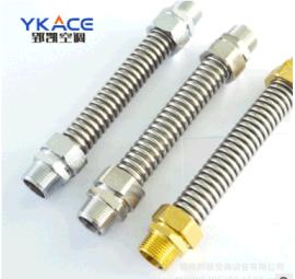 304 不锈钢中央空调波纹管 风机盘管软连接 金属软接