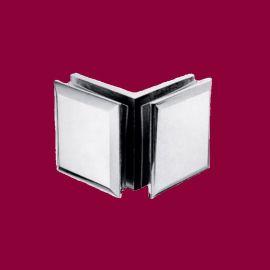 成亿达SAYDA304不锈钢合页玻璃门铰链不锈钢玻璃夹浴室玻璃夹门夹