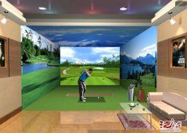 室内模拟高尔夫休闲娱乐设备