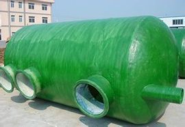 直销武汉玻璃钢化粪池 污水处理设备可定制