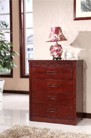 家用大容量实木斗柜环保油漆卯榫结构实木家具
