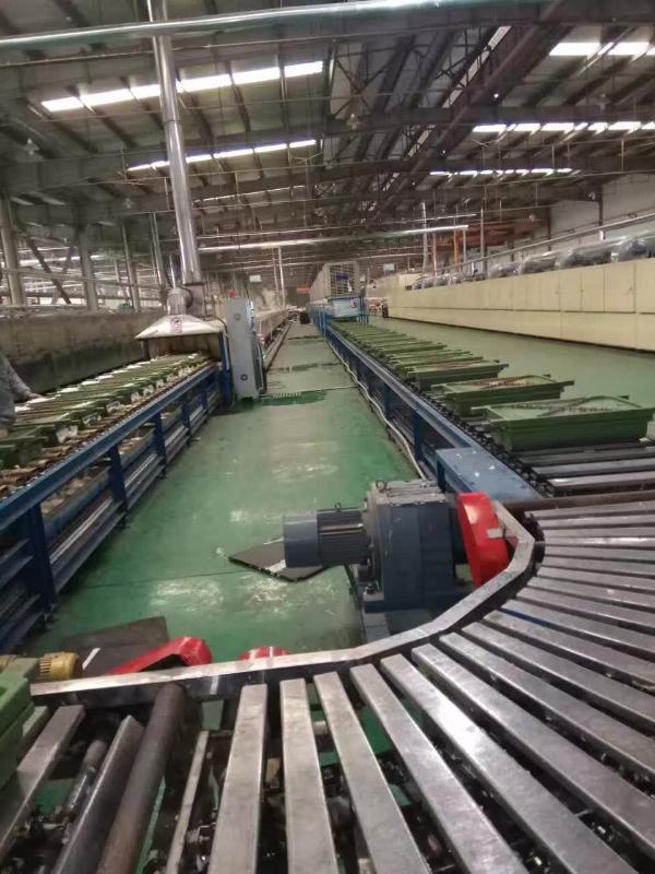 巨久-1000乳胶枕头流水线