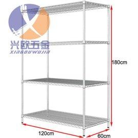 南京不锈钢置物架厂家订做 南京不锈钢网格货架订做价格