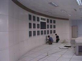 北京中泽凯达专业生产高端弧形电视墙