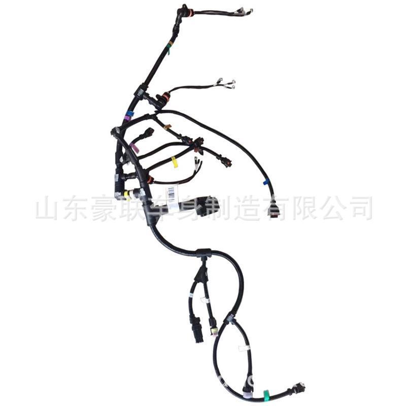 中國重汽配件 豪運 發動機線束 國五 國六車 圖片 價格 廠家