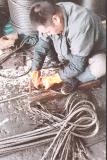 起重吊索具 手工插編鋼絲繩索具 鋼絲繩琵琶頭 鋼絲繩套14mm*6m