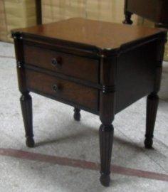卧室家具 - 实木欧式床头柜