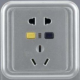 防漏电保护插座