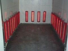 高温烤漆房,红外线家具烤漆房