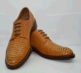 工巧明新款**纯手工制作男士商务正装固异皮鞋头层牛皮简约时尚大方