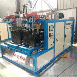 一出二塑料吹塑机 汽车三脚架盒成产机械