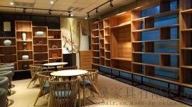 办公家具定制 现代时尚书柜陈列柜设计定做