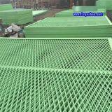 拉伸铝网 金属网格吊顶 武汉铝板网