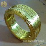 黄铜线H65 H62 半硬黄铜丝 黄铜扁线0.8*2.0mm 圆角扁线
