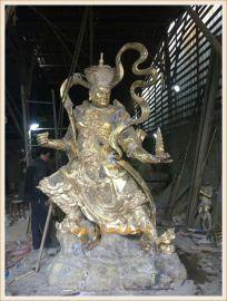 铜雕佛像四大天王制造厂家,温州铸铜佛像生产厂家