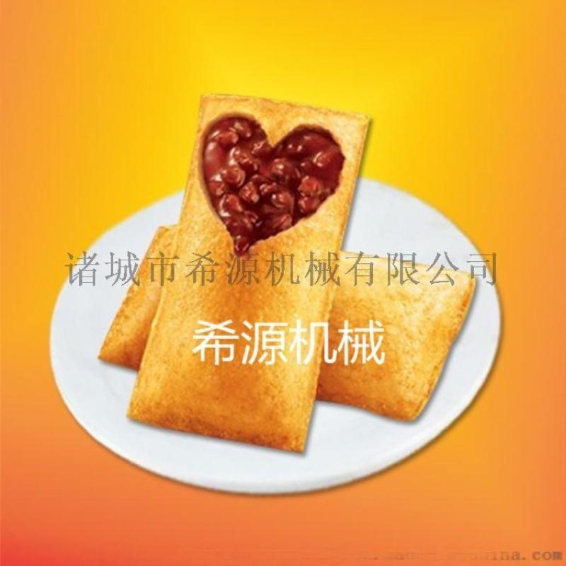 连续式红豆派裹面包糠机 红豆派上浆机 红豆派裹粉机