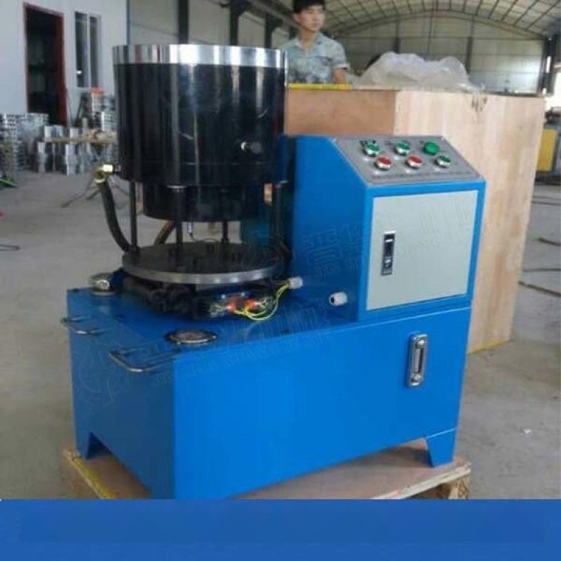 48建筑管焊接机缩管机云南楚雄全自动钢管焊接机