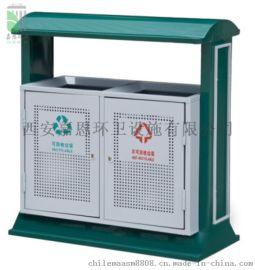 山西太原冲孔垃圾箱,环卫分类塑料垃圾桶厂家