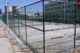 学校操场隔离球场护栏镀锌勾花网喷塑球场护栏现货直销
