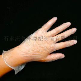 一次性pvc手套乳胶加厚透明食品级薄膜pe小龙虾